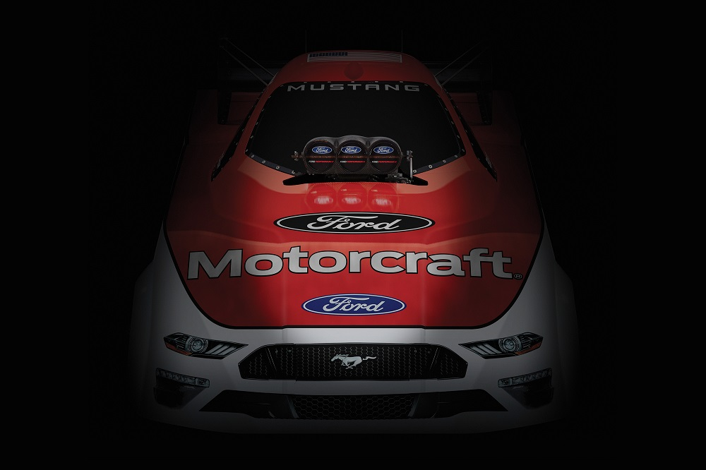 NEW FORD MUSTANG FUNNY CAR TO DEBUT IN 2019