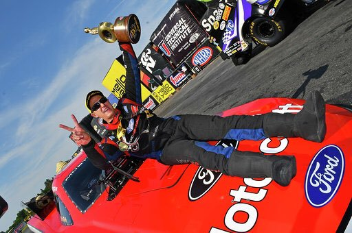 Ford Extends Deal with Tasca Racing with Multiyear NHRA Contract
