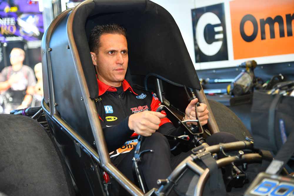 Bob Tasca III Cleared to Return to NHRA, Rejoins Motorcraft/Quick Lane Team This Week in Indianapolis